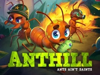 Anthill – Only playable in handheld mode