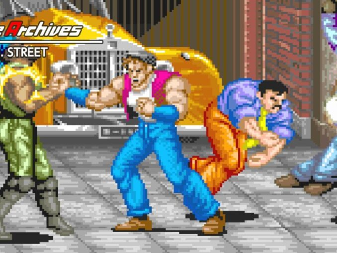 Release - Arcade Archives 64th. STREET