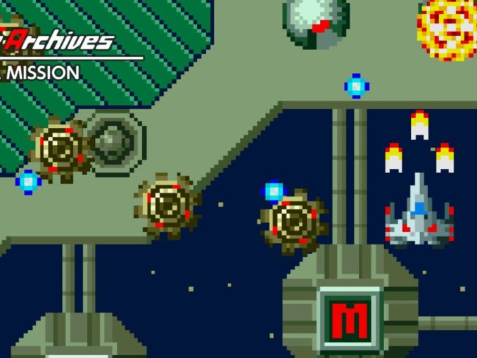 Release - Arcade Archives ALPHA MISSION