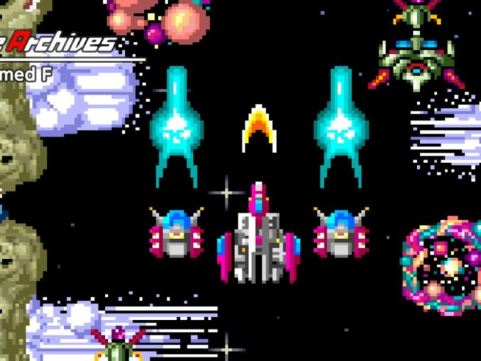 Release - Arcade Archives Armed F