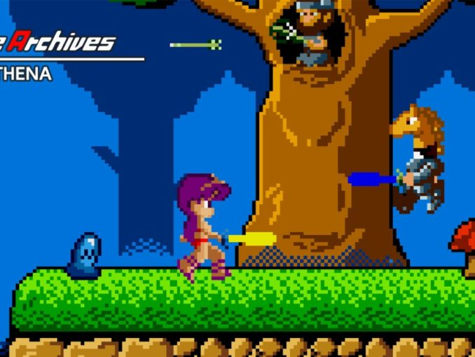 Release - Arcade Archives ATHENA