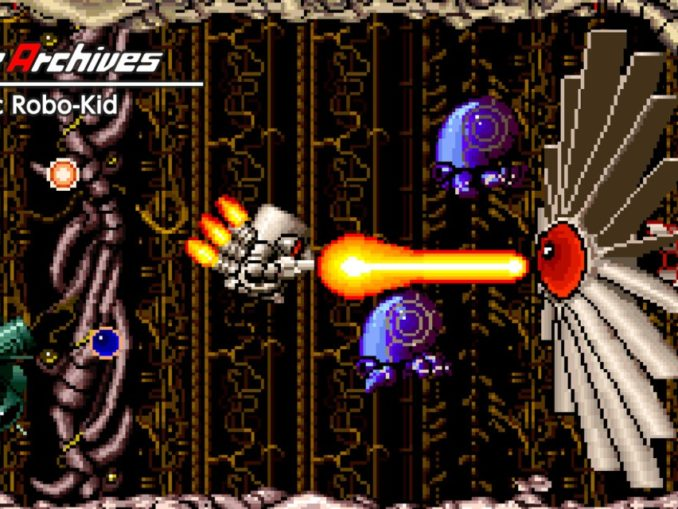 Release - Arcade Archives Atomic Robo-Kid