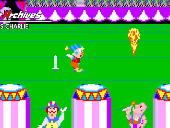 Release - Arcade Archives CIRCUS CHARLIE
