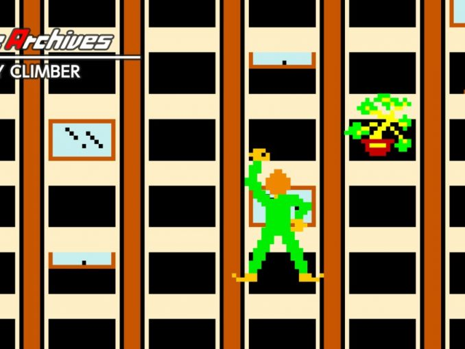 Release - Arcade Archives CRAZY CLIMBER