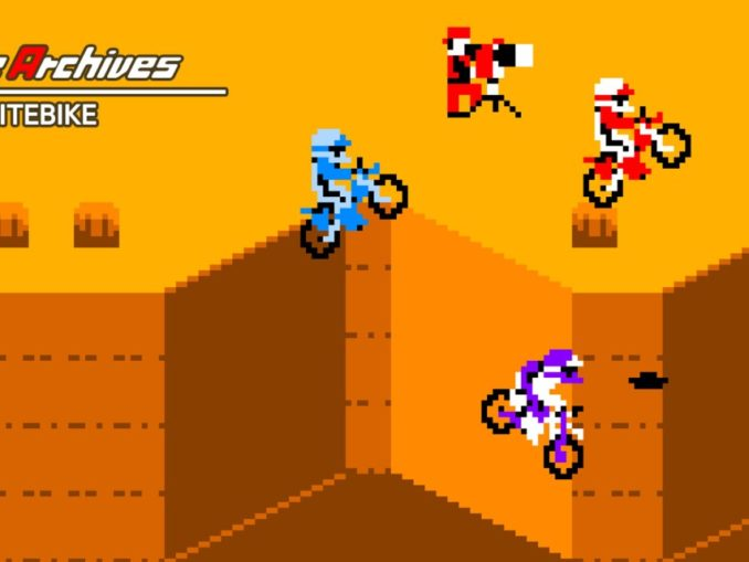 Release - Arcade Archives EXCITEBIKE