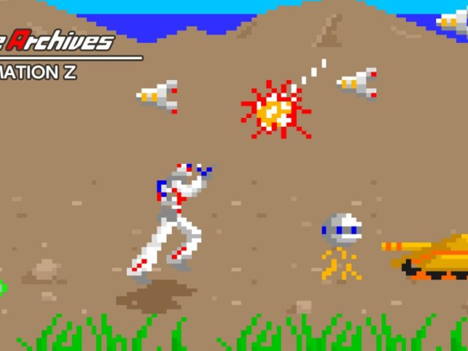 Release - Arcade Archives FORMATION Z