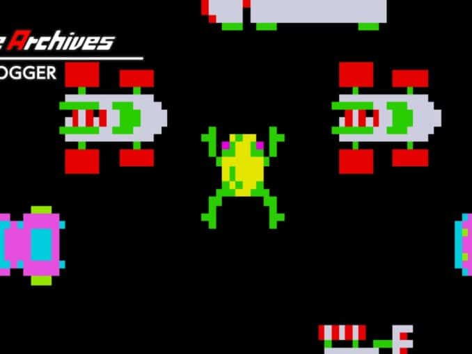 Release - Arcade Archives FROGGER
