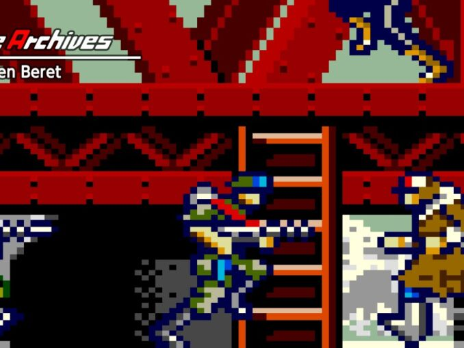 Release - Arcade Archives Green Beret
