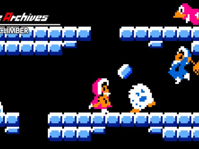 Release - Arcade Archives ICE CLIMBER