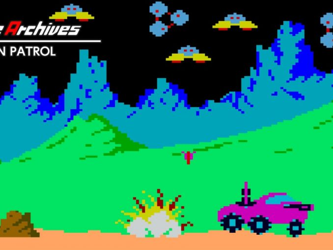 Release - Arcade Archives MOON PATROL