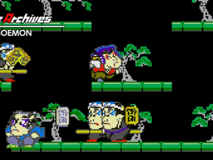 Release - Arcade Archives Mr.GOEMON