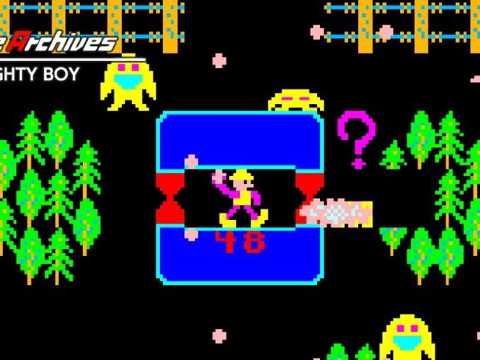 Release - Arcade Archives NAUGHTY BOY
