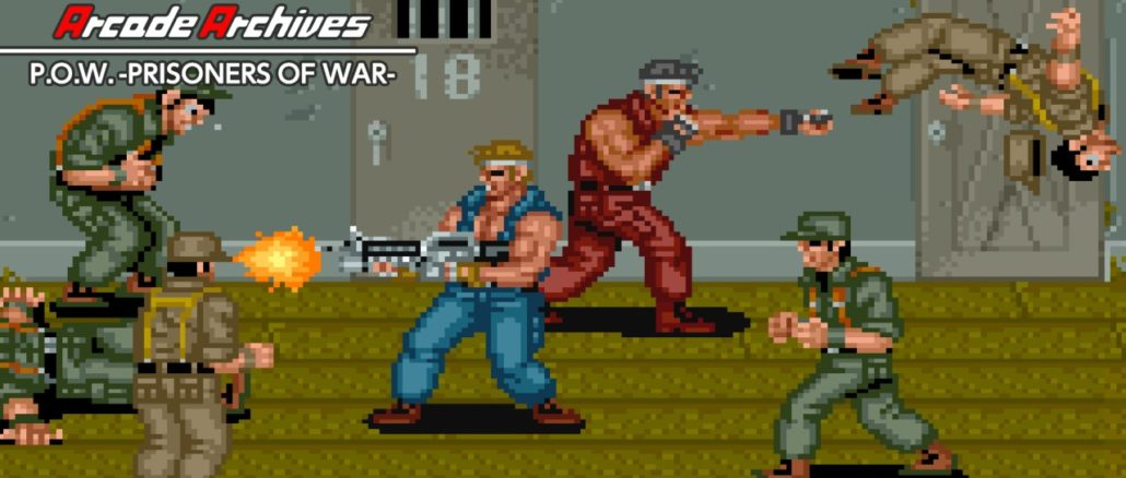 Arcade Archives P.O.W. -PRISONERS OF WAR-
