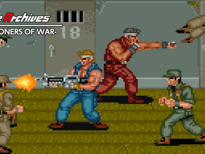 Release - Arcade Archives P.O.W. -PRISONERS OF WAR-