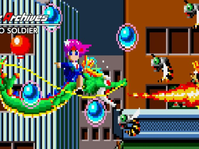 Release - Arcade Archives PSYCHO SOLDIER