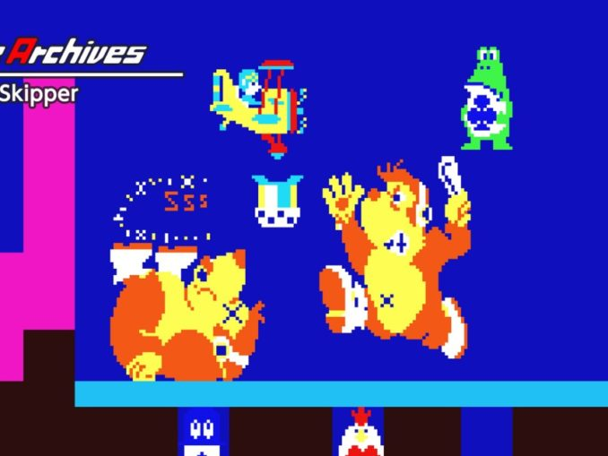 Release - Arcade Archives Sky Skipper
