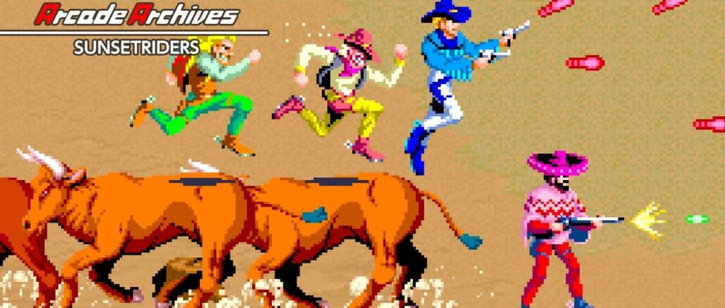 Arcade Archives SUNSETRIDERS