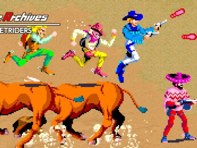 Release - Arcade Archives SUNSETRIDERS