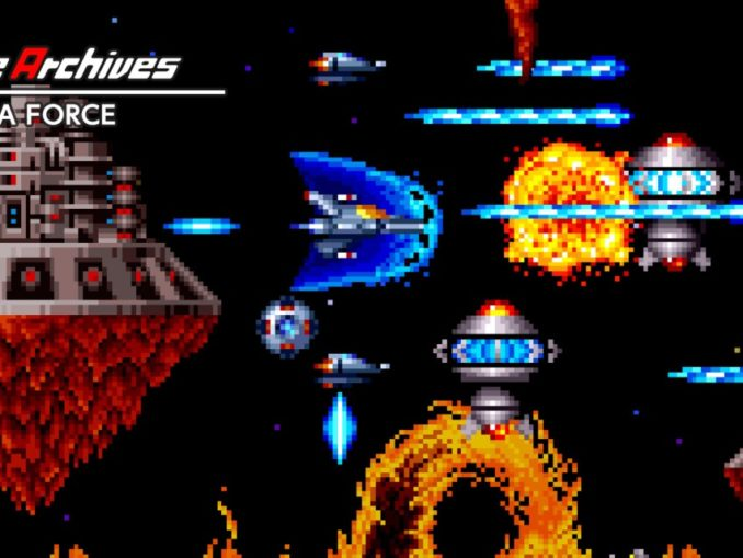 Release - Arcade Archives TERRA FORCE