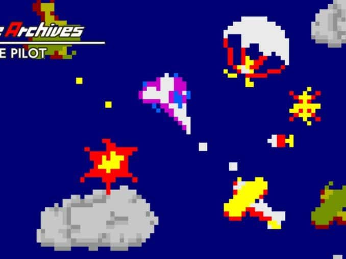 Release - Arcade Archives TIME PILOT