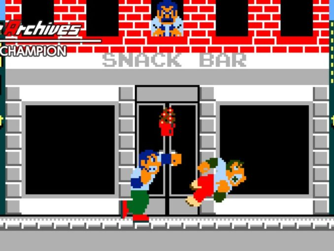 Release - Arcade Archives URBAN CHAMPION