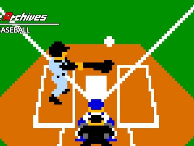 Release - Arcade Archives VS. BASEBALL