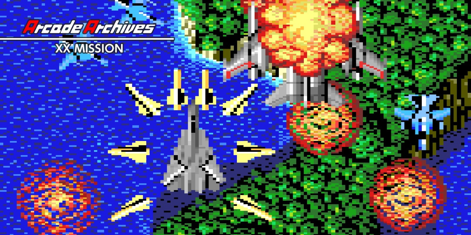 Arcade Archives XX MISSION