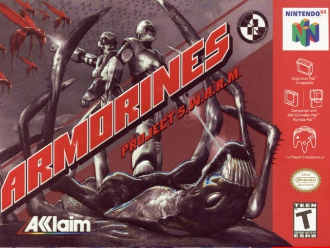 Release - Armorines: Project S.W.A.R.M.