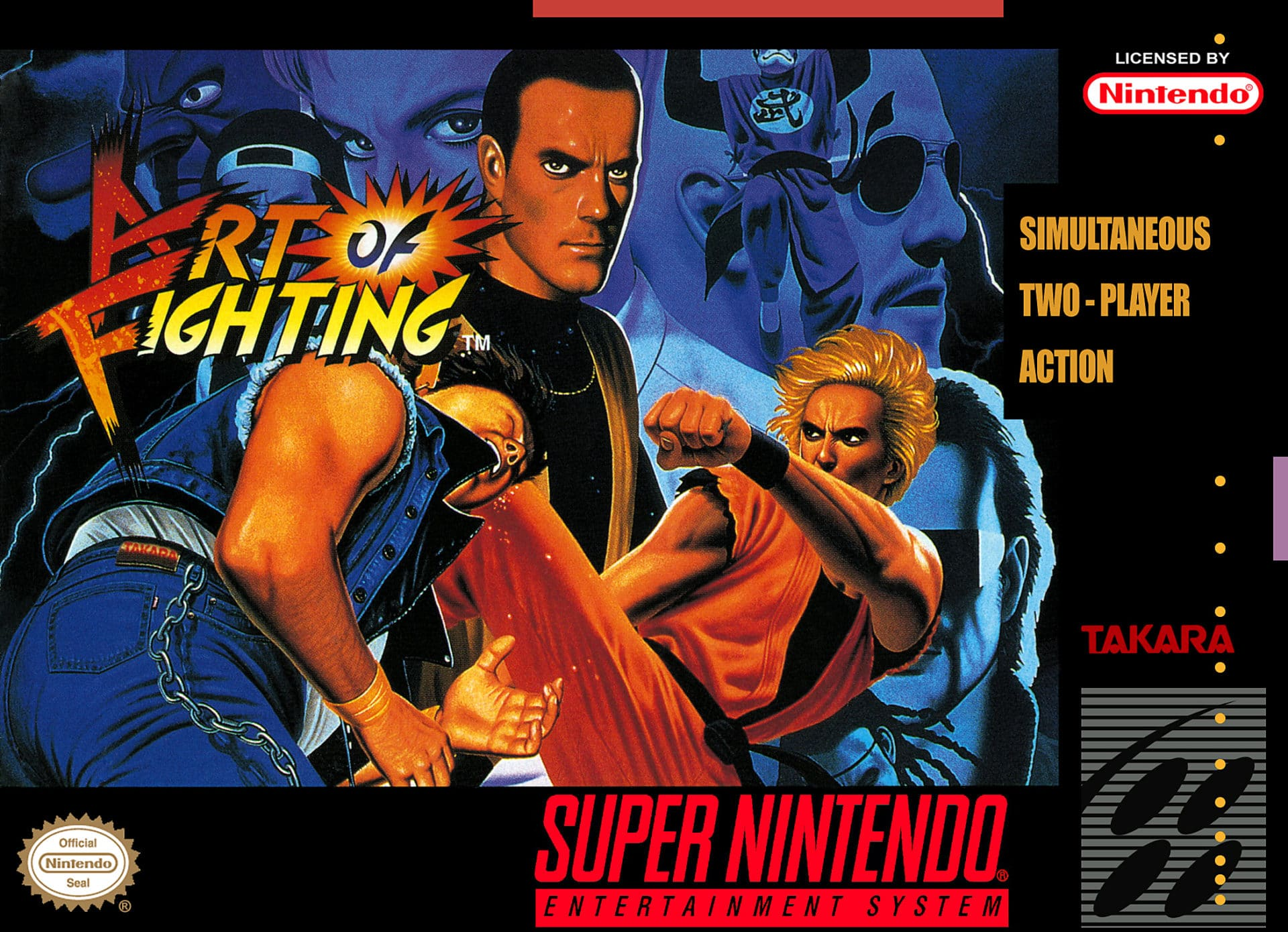 Art Of Fighting Super Nintendo Releases Nintendoreporters