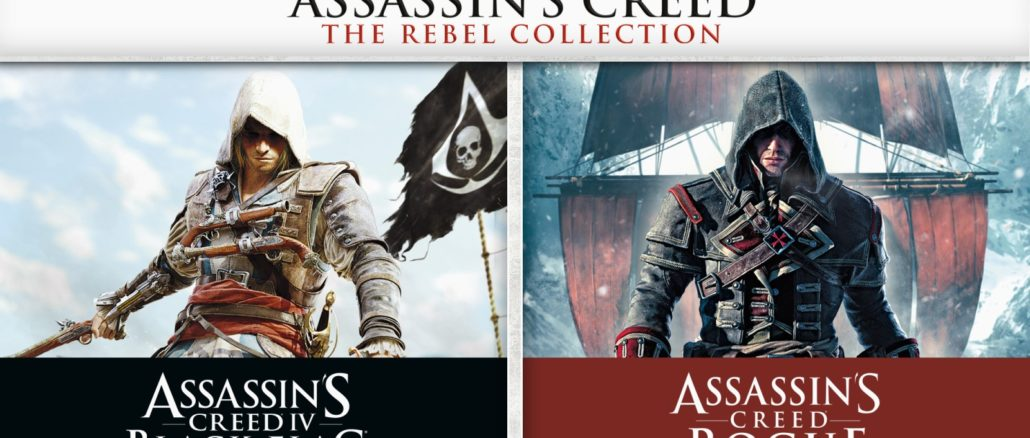 Assassin's Creed IV Black Flag and Rogue coming December 6th