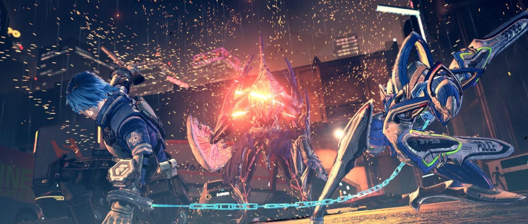 Astral Chain – Zwaard Legion Gameplay Footage