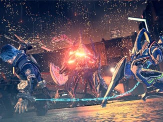 Astral Chain – Sword Legion Gameplay Footage