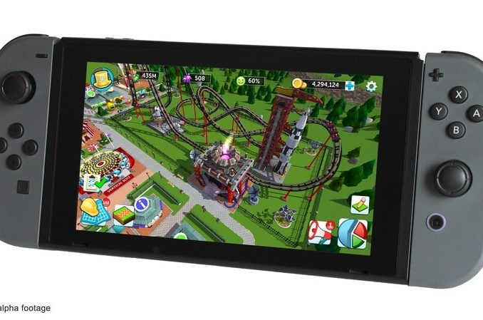 News - Atari crowdfunding voor Rollercoaster TycoonSwitch