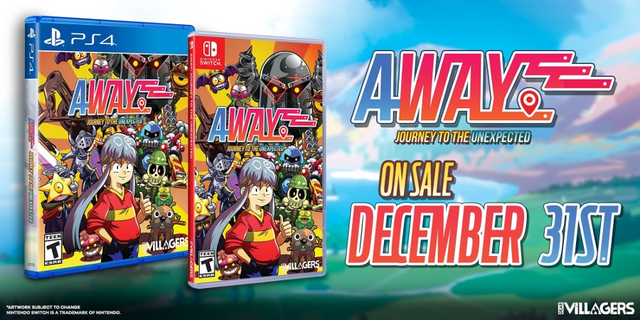 AWAY: Journey to the Unexpected – Fysieke release via Limited Run Games – 31 December