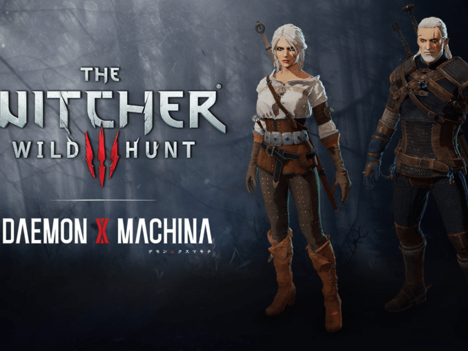 Nieuws - Daemon X Machina's – The Witcher 3: Wild Hunt gratis DLC