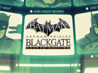 Release - Batman: Arkham Origins Blackgate – Deluxe Edition