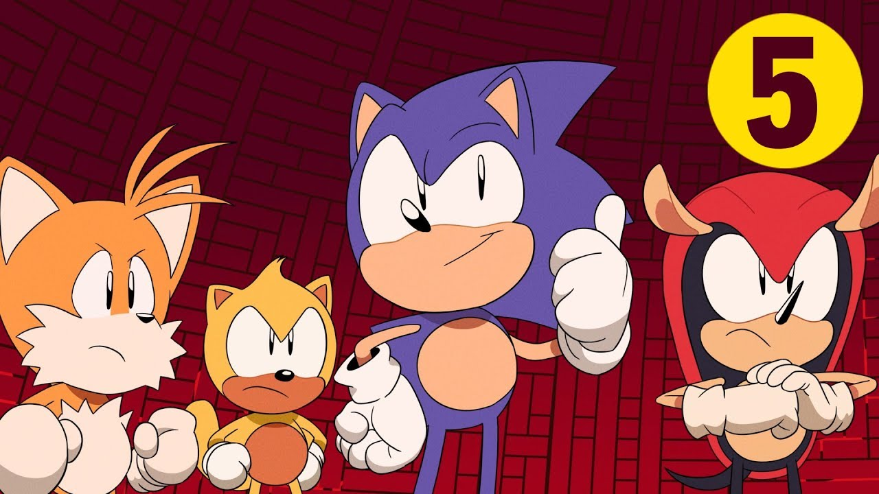 Watch the final episode of Sonic Mania Adventures