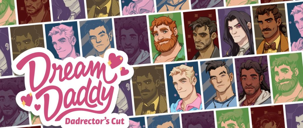 Dream Daddy: A Dad Dating Simulator – First 10 Minutes