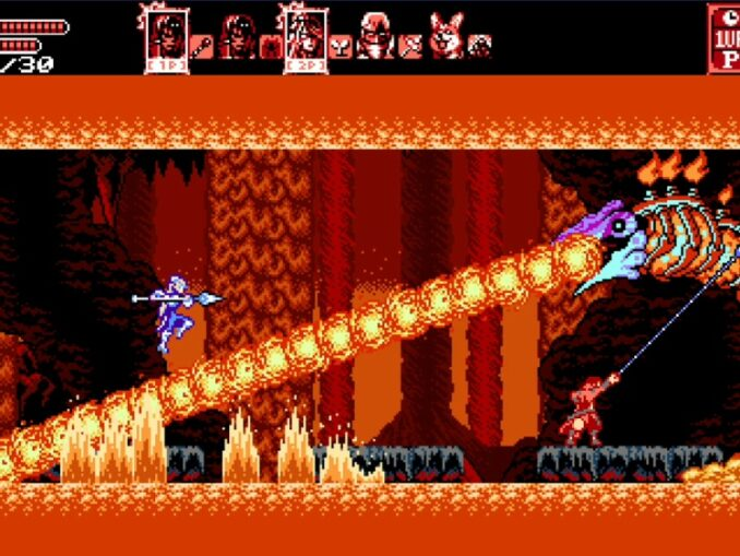 Nieuws - Bloodstained: Curse of the Moon 2 versie 1.3.0