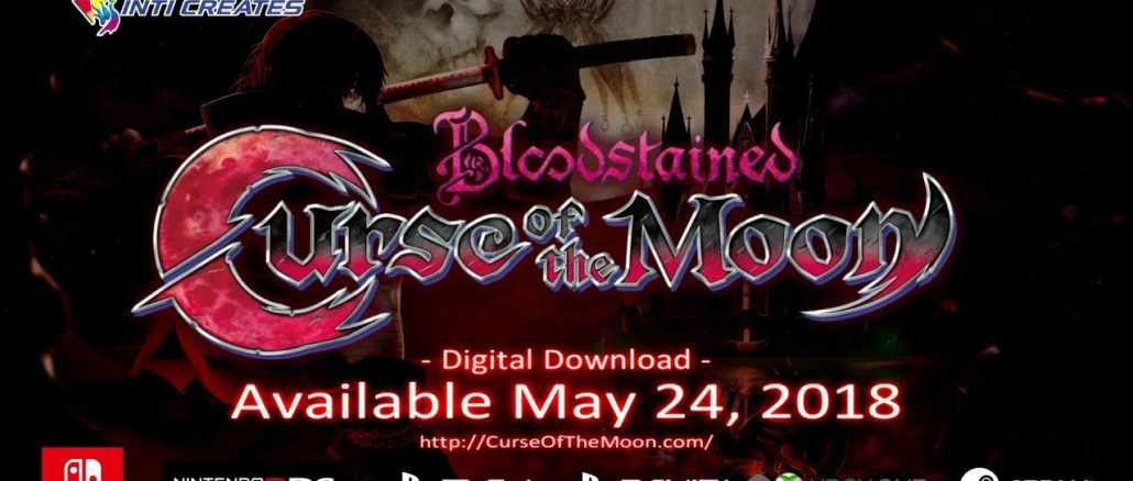 Bloodstained: Curse Of The Moon fysieke editie?