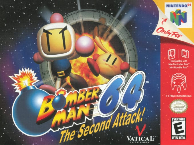 Release - Bomberman 64: The Second Attack!