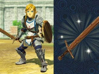 Bonus Training Sword-wapen voor Zelda: Breath of the Wild save data
