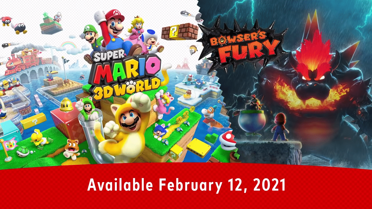Bowser's Fury Unleashed In Super Mario 3D World + Bowser's Fury Trailer