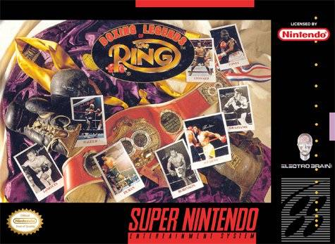 Release - Boxing Legends of the Ring