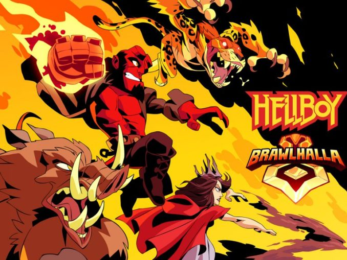 News - Brawlhalla – Hellboy makeover