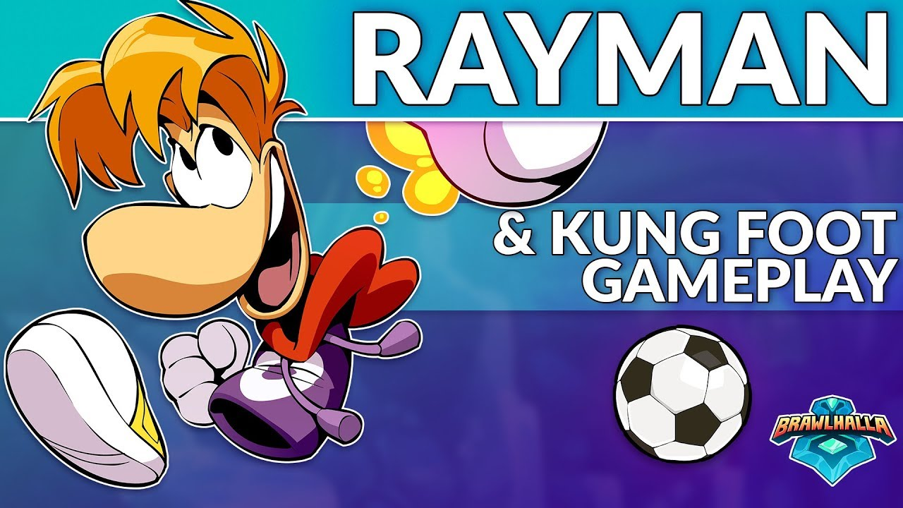 Brawlhalla Livestream toont Rayman and Kung Foot gameplay