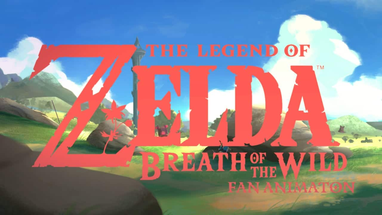 Breath Of The Wild – Amazing fan animation