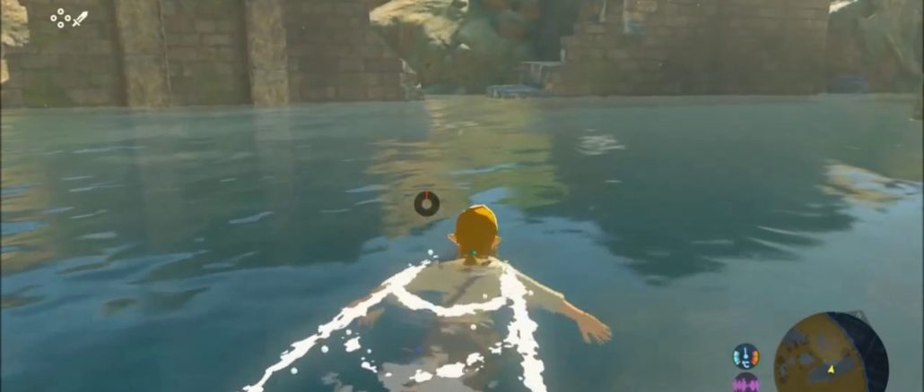 Breath of the Wild glitch – Beautiful view of lively setting underwater
