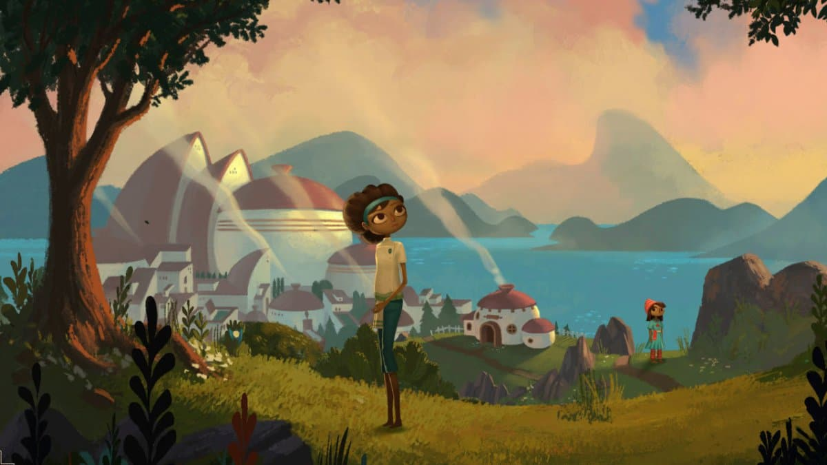 Broken Age is uit