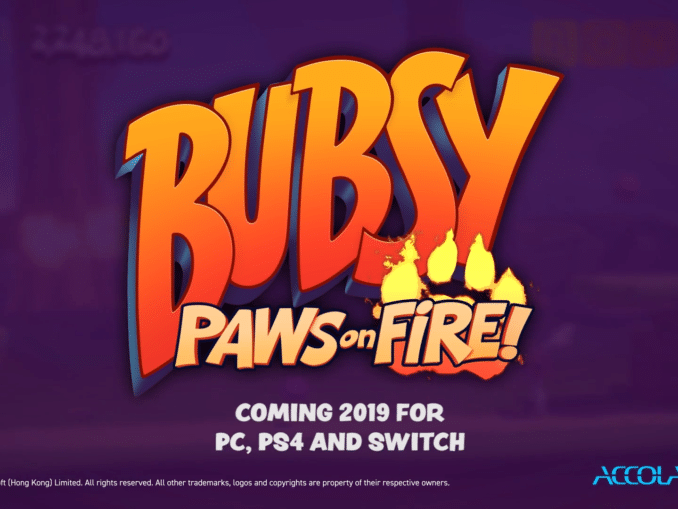 Nieuws - Bubsy: Paws On Fire! – Launch Trailer
